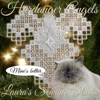 Mary Jane Hardanger Angel Project