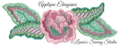 Applique Elegance Banner
