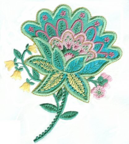 Applique Elegance 4x4 No. 2