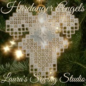 Hardanger Angel Mary Jane