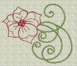 Filigree Flowers No. 2A
