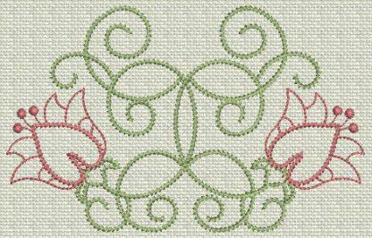 Filigree Flowers No. 7