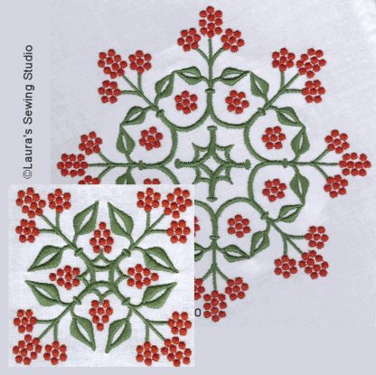Berries Embroidery Collection