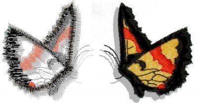 Butterflies Applique No. 6