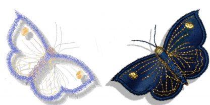 Butterflies Applique No. 3