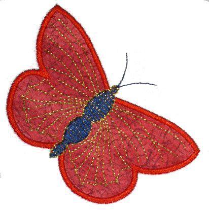 Butterflies Applique No. 4