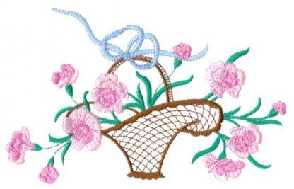 Carnations Basket