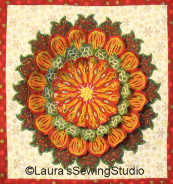 Mandala – Free-Standing Applique Project