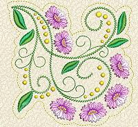 Delicate Florals No. 5