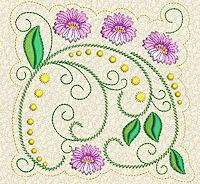 Delicate Florals No. 6