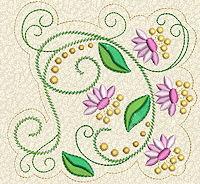 Delicate Florals No. 7