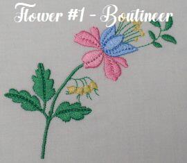 Floral Embellishments - Flower No. 1