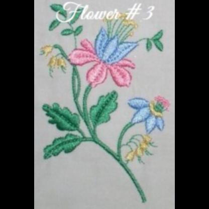 Floral Embellishments No. 3