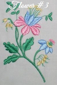 Floral Embellishments - Flower No. 3