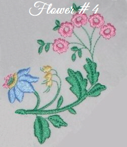 Floral Embellishments - Flower No. 4