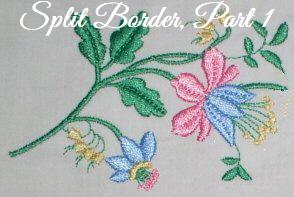 Floral Embellishments - Border-1