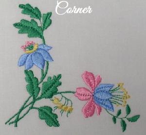 Floral Embellishments - Corner