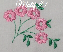 Floral Embellishments - Motif-1