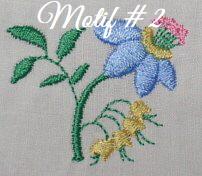 Floral Embellishments - Motif-2