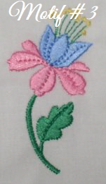 Floral Embellishments - Motif-3
