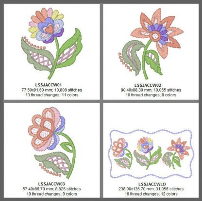 Nancy's Cutwork Embroidery Design Details