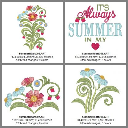 Summer In My Heart Design Details, Page 2