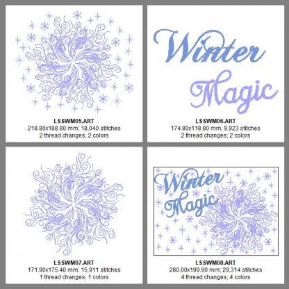 Winter Magic Design Details, Page 2