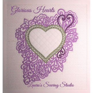 Glorious Hearts in Pink & Green