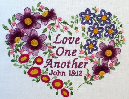 Love One Another Project - Alternate Color Scheme