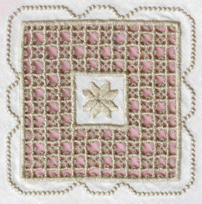 Hardanger Squared Design No. 1