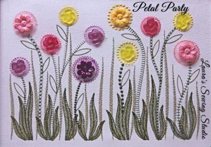 Petal Party Banner avec Buttons