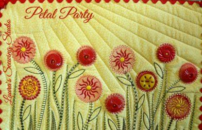 Petal Party Quilt Sampler