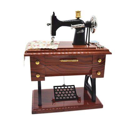 Anlydia Vintage Sewing Machine Trinket