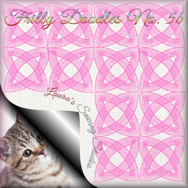 My Latest Freebie – Frilly Doodles 5B