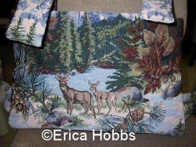 Made with love – Erica Hobb's Walker Bag Story…