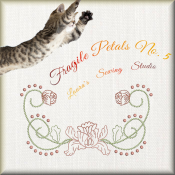 Fragile Petals No. 5 - Free Embroidery Design