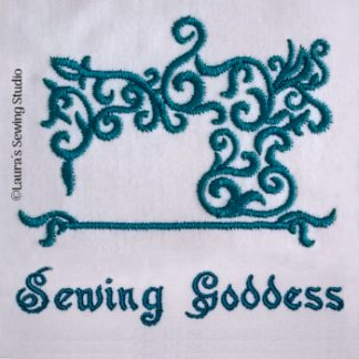 Sewing Goddess 4-Inch