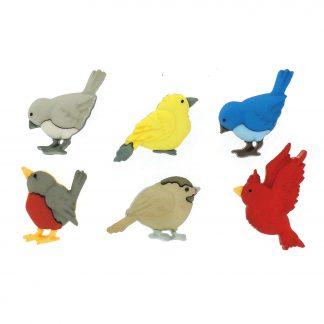 Dress It Up! Song Bird Buttons