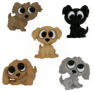 Dress It Up! Puppy Buttons