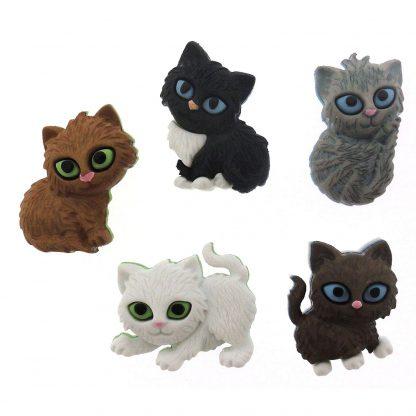Dress It Up! Kitten Buttons