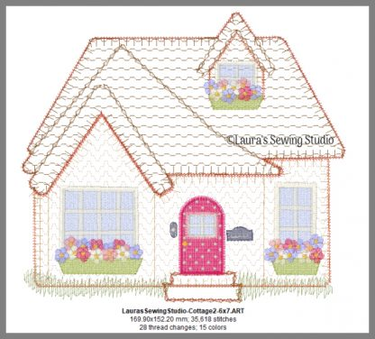 Cottage Love 7-Inch Design Details