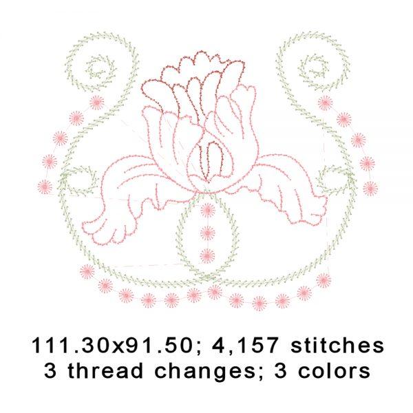 Fragile Petals No. 7 Design Details