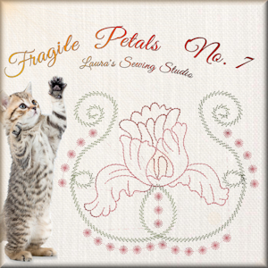 Fragile Petals No. 7 - Free Embroidery Design
