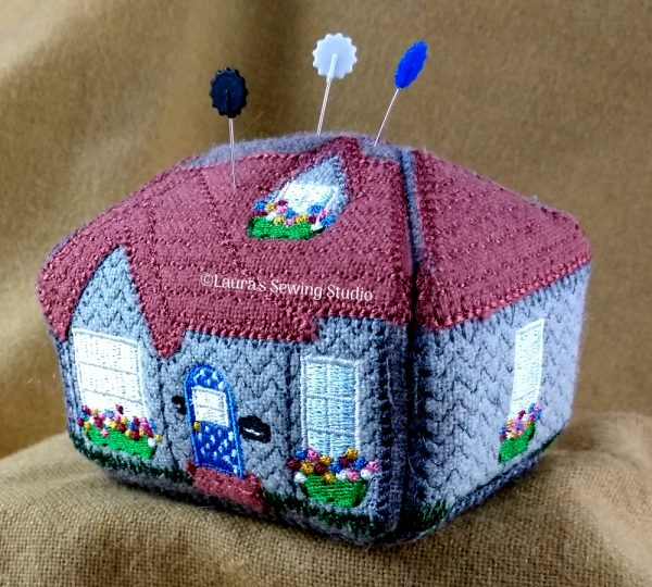 Cottage Love Pincushion Project (Front)