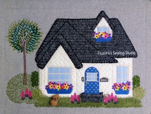 Cottage Love 8x11