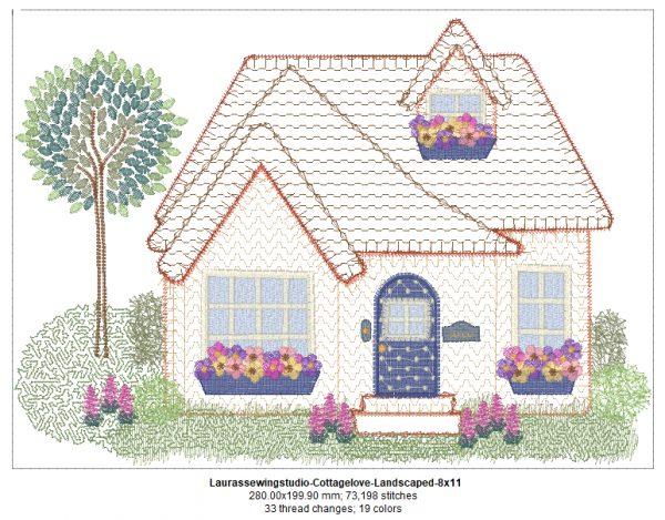 Cottage Love 8x11 Elements Design Details