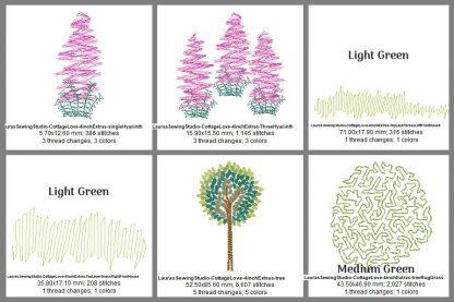 Cottage Love 4-Inch Elements Design Details, Page 2