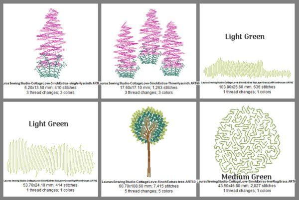 Cottage Love 5-Inch Elements Design Details, Page 2