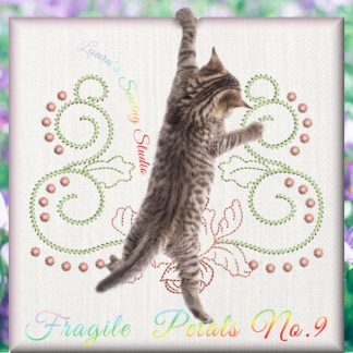 Fragile Petals No. 9 - Free Embroidery Design