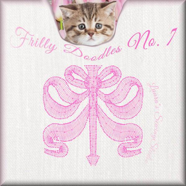 Frilly Doodles No. 7 - Free Embroidery Design